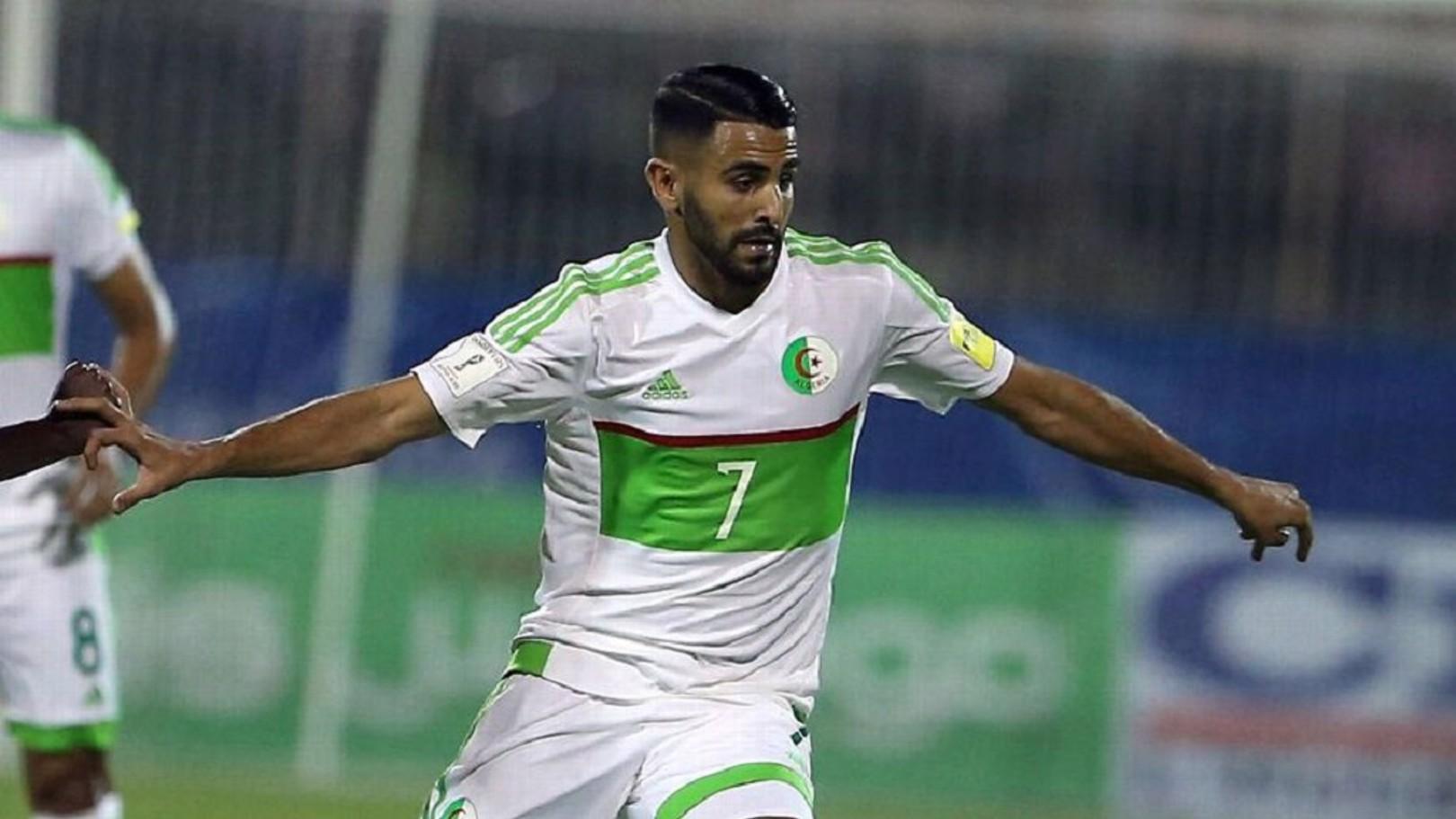 Mahrez masuk sebagai pengganti