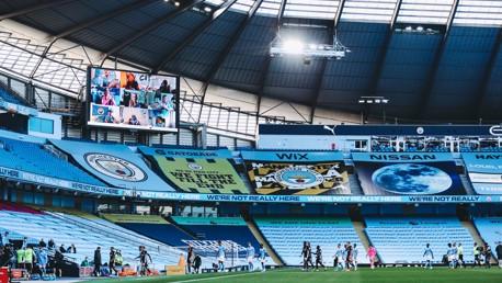 Junior Cityzens celebrated at Premier League clash