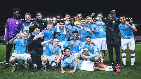 Six of the best! City's U18 PL Cup win