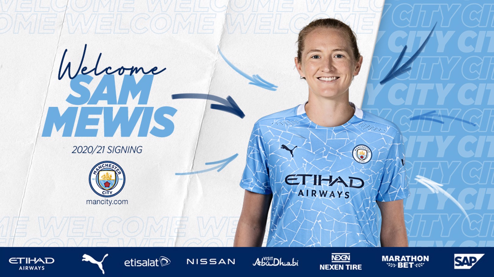 Sam Mewis signs for City