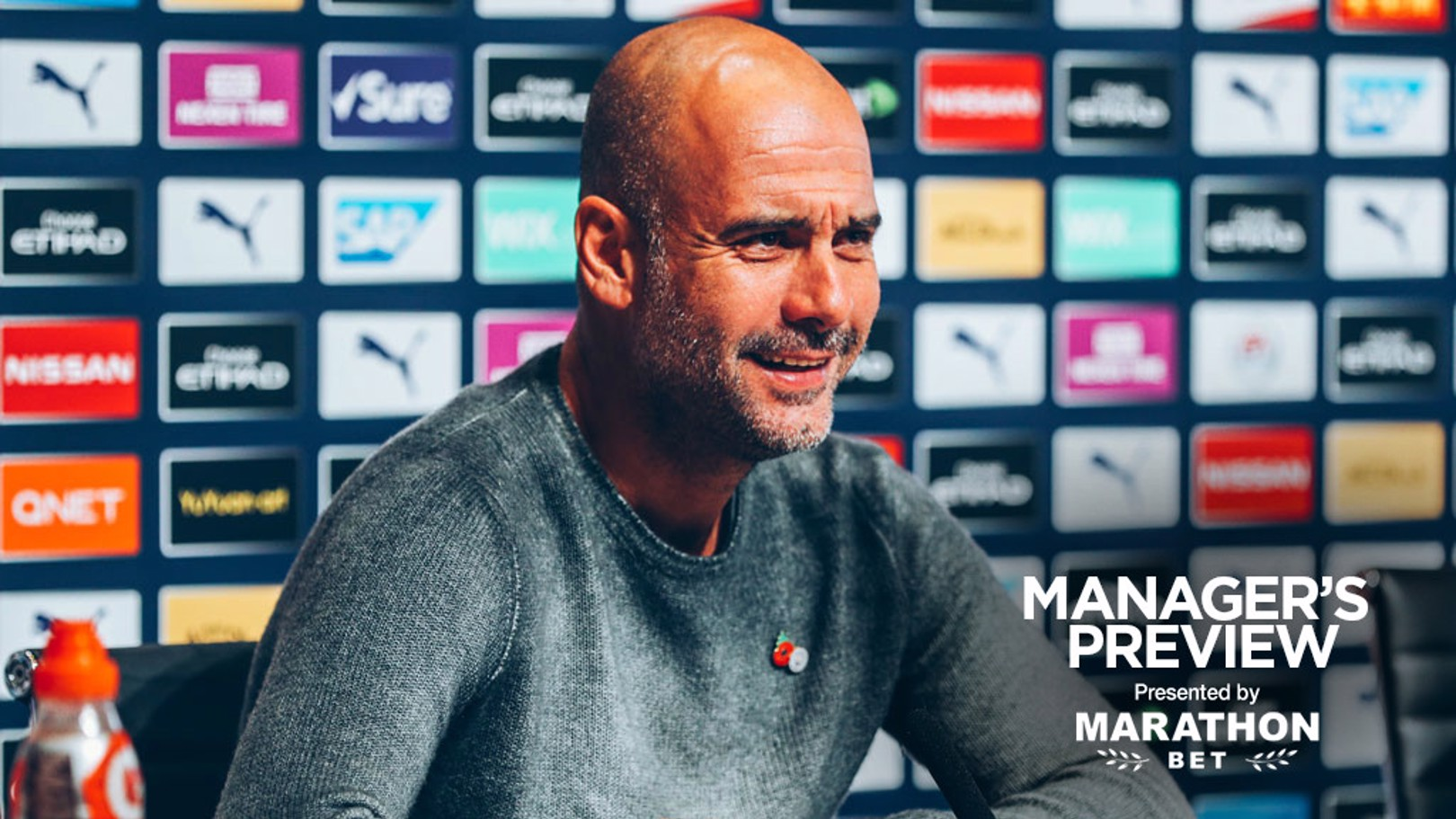 PRE-MATCH: Pep Guardiola speaks to the media ahead of City's game against Southampton.