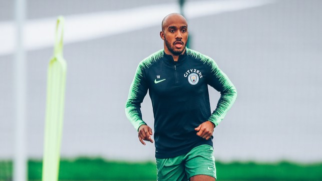 DELPH : Back on the training pitch!