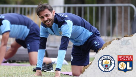 Bernardo: We couldn't be in better shape