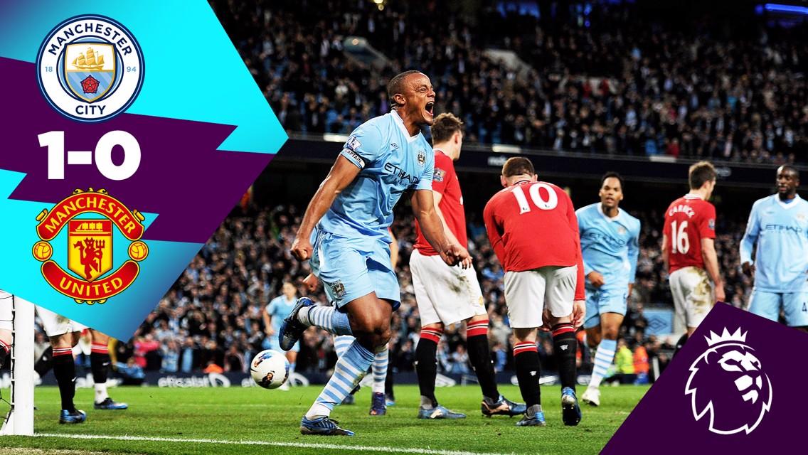 Cuplikan Klasik: City 1-0 United, 2012