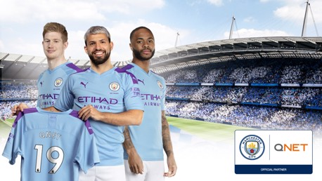 CLUB NEWS: Manchester City has extended its partnership with Asian Direct Selling company QNET that will take the relationship to ten years.