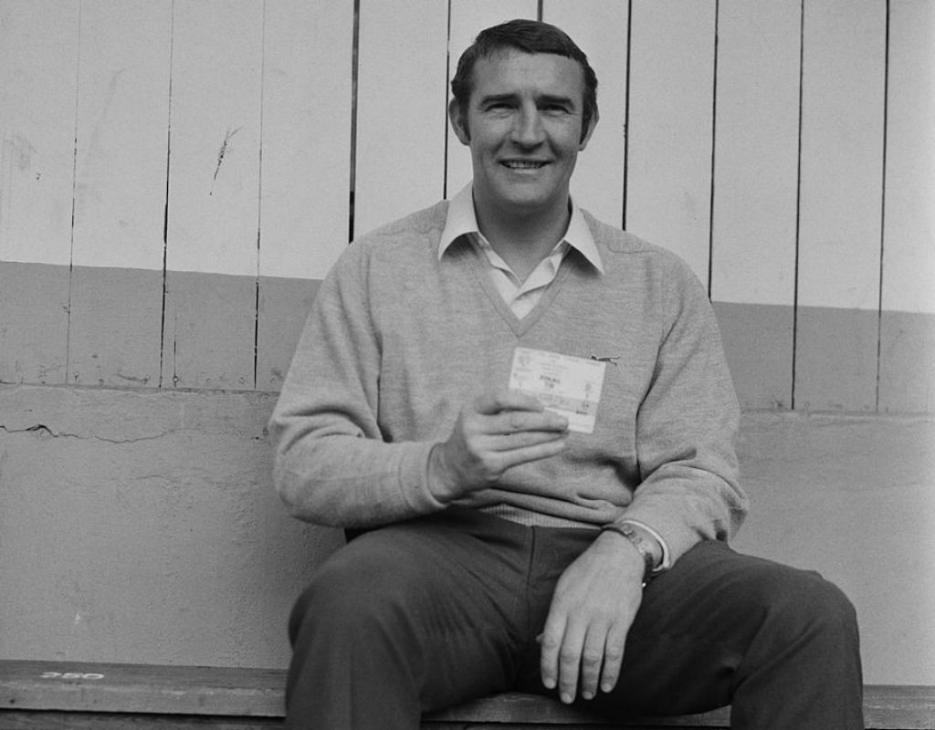 JUST THE TICKET: Malcolm holds aloft a ticket for the 1969 FA Cup final between City and Leicester