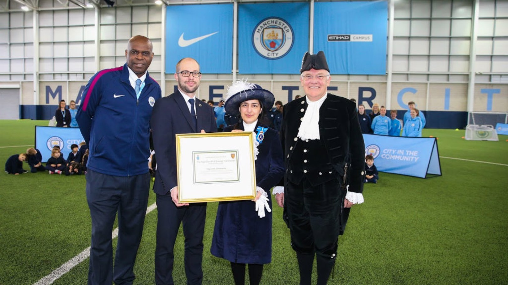 CITC commended by Greater Manchester High Sheriff