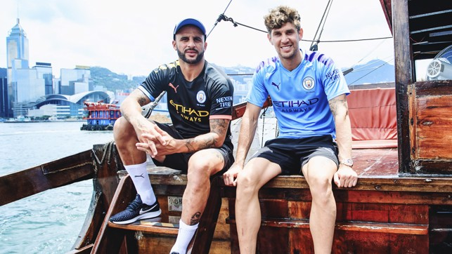 BLUES BROTHERS : Looking sharp in the new PUMA 2019/20 home and away shirts!