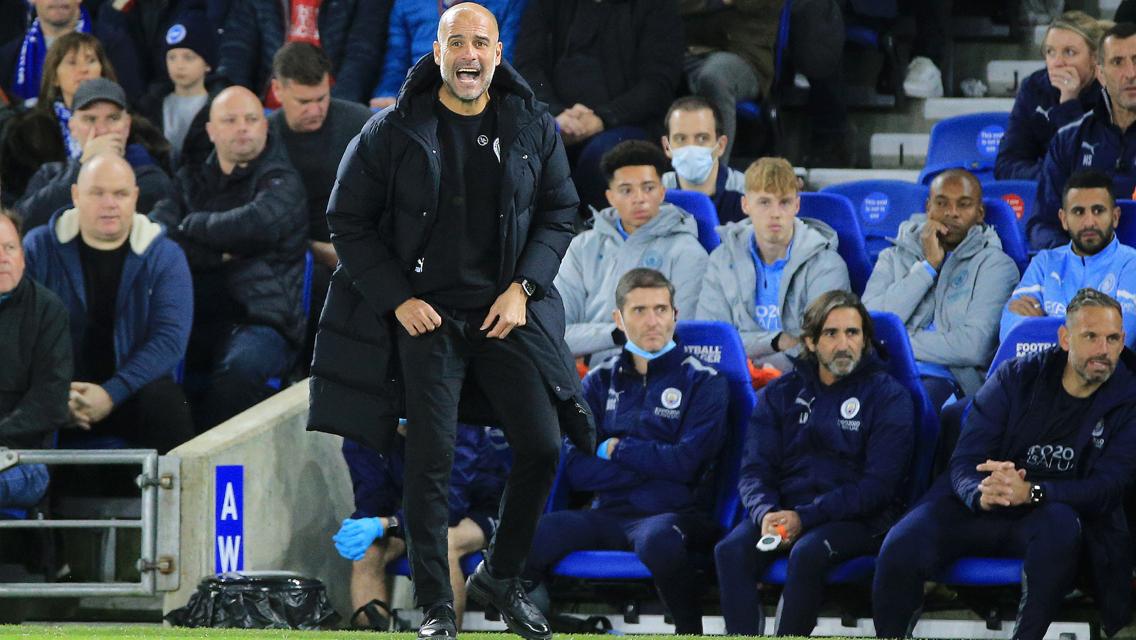 Guardiola explains the lesson City learnt against Brighton