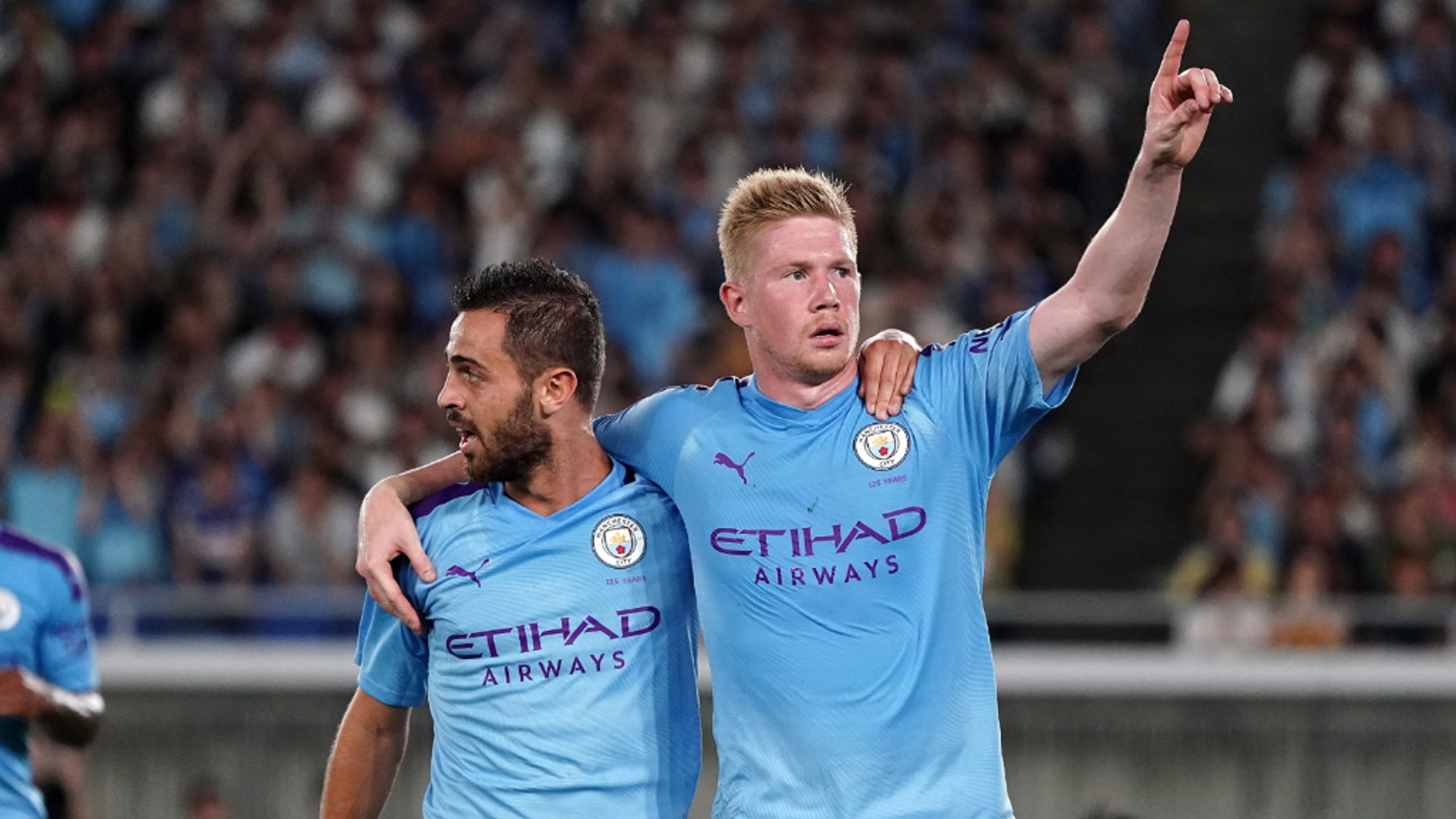 BLUES BROTHERS: Bernardo Silva and Kevin De Bruyne on City's Champions League hopes