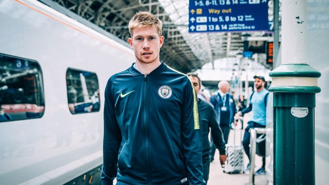 FIT AGAIN : Is Kevin De Bruyne in line for a Wembley start?