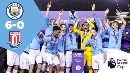 City U18 6-0 Stoke: Full match replay