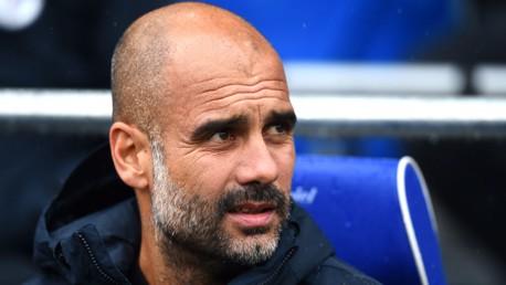 CARDIFF CHALLENGE: Pep Guardiola