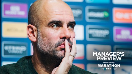 PRESS CONFERENCE: Pep Guardiola previews the game