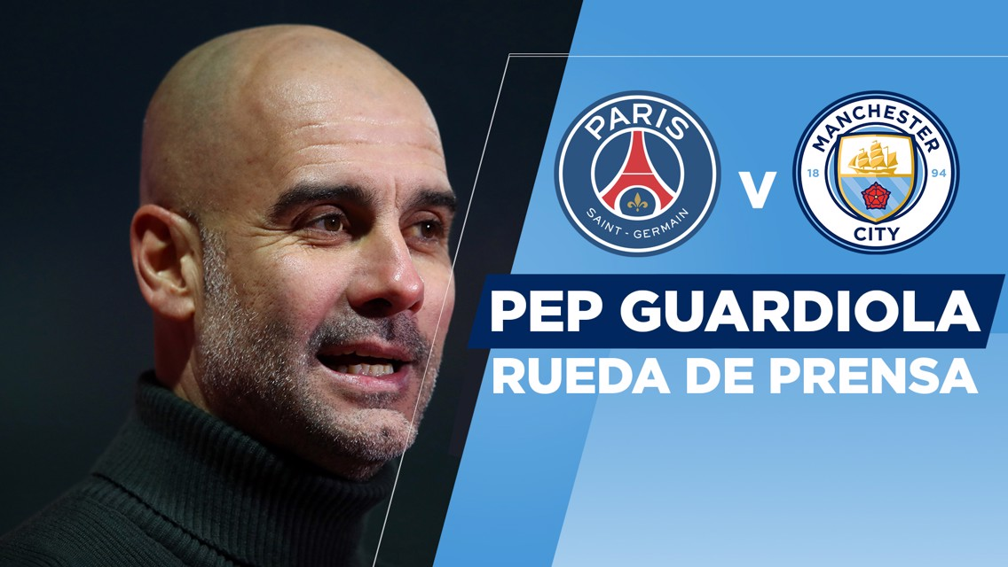 """Pep: """"El PSG es un equipo fantástico"""""""
