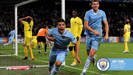 On this day: Six of the best, a Euro first and Kun hits four!