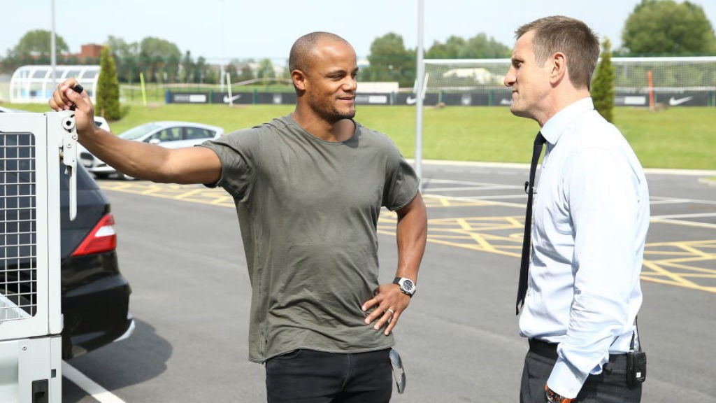 ICONS : Will catches up with former City captain Vincent Kompany