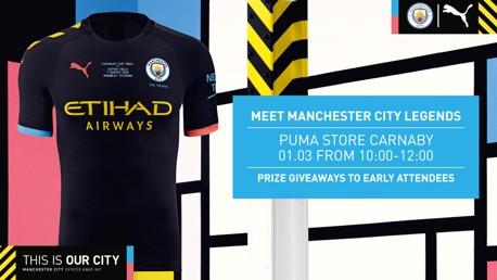 Don't miss our PUMA Pre-Wembley Fan Event