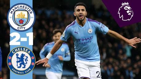 City 2-1 Chelsea: Full match replay