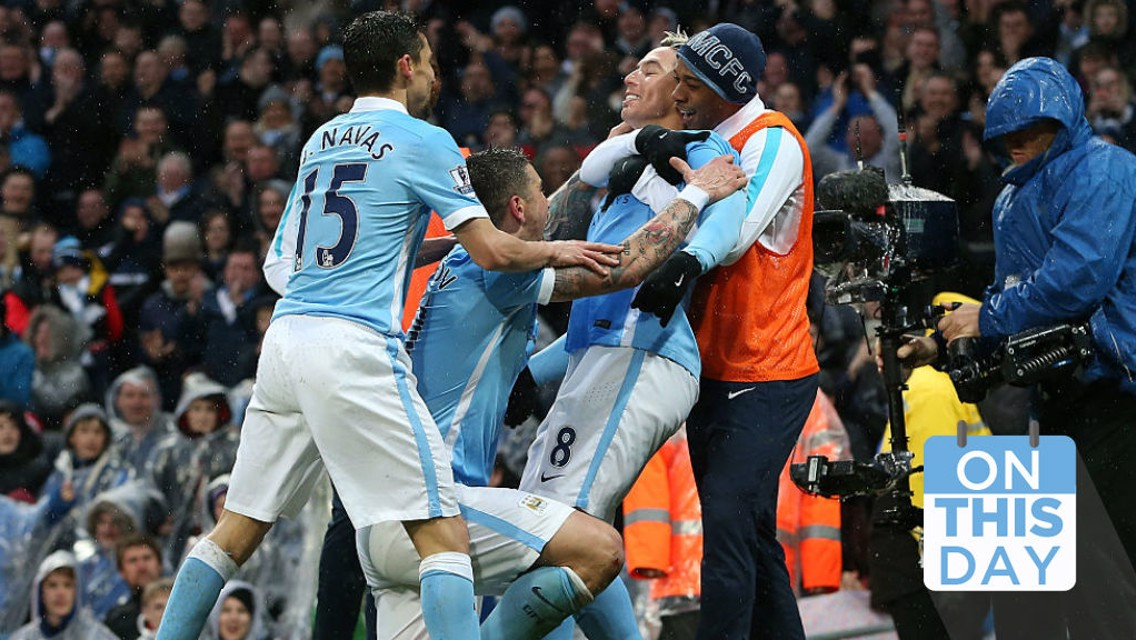 On This Day: Anfield title blow, Nasri's vital strike