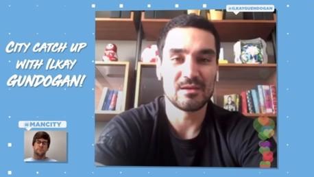 Ilkay Gundogan: Group chats, cooking and charitable donations