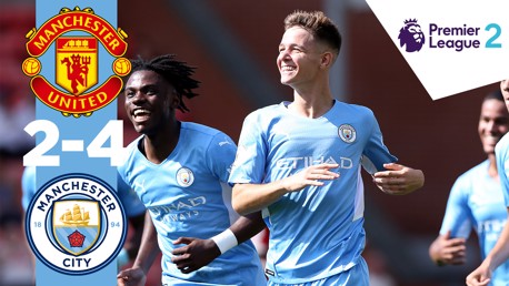 Man United 2-4 EDS City: Cuplikan Pertandingan