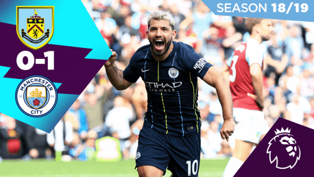 Burnley 0-1 City: Full match replay 2018/19