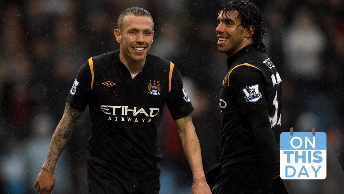 On this day: City three up in seven minutes!
