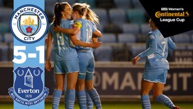 Continental Cup highlights: City 5-1 Everton
