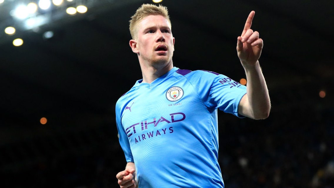 """We were a bit rusty"" says De Bruyne"