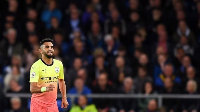 MAHREZ STUNNER : Riyad's goal capped a superb all-round display
