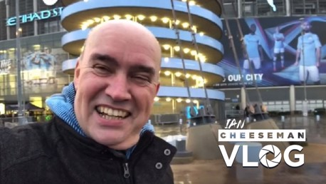 City v West Ham: Ian Cheeseman vlog
