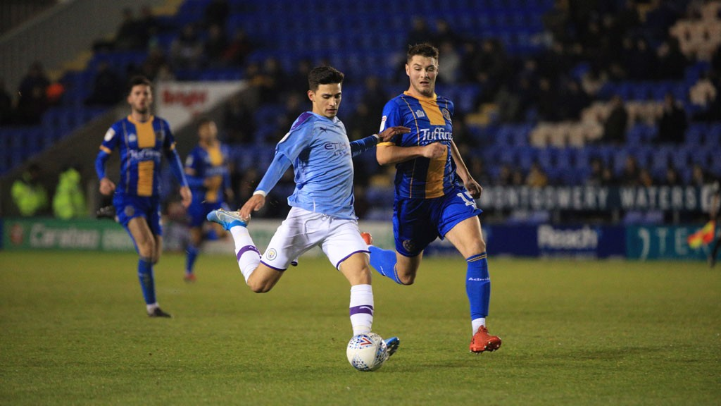 Grimshaw City's shoot-out hero at Shrewsbury