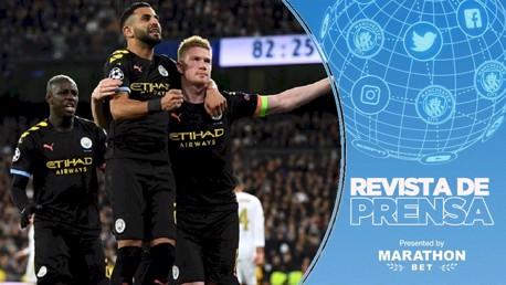 Revista de prensa: El City toma Madrid