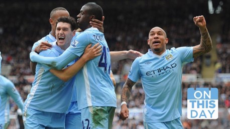 On this day: Yaya's crucial double puts City on brink